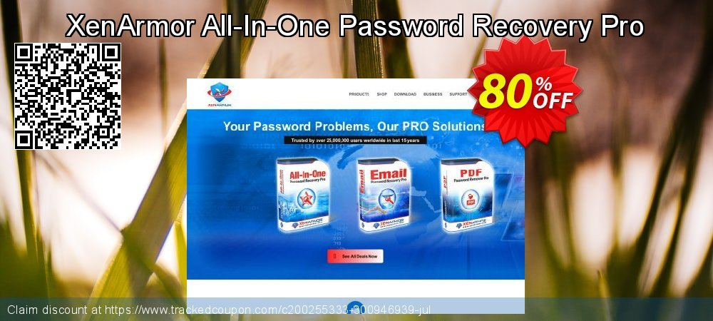 XenArmor All-In-One Password Recovery Pro coupon on Lunar New Year offer
