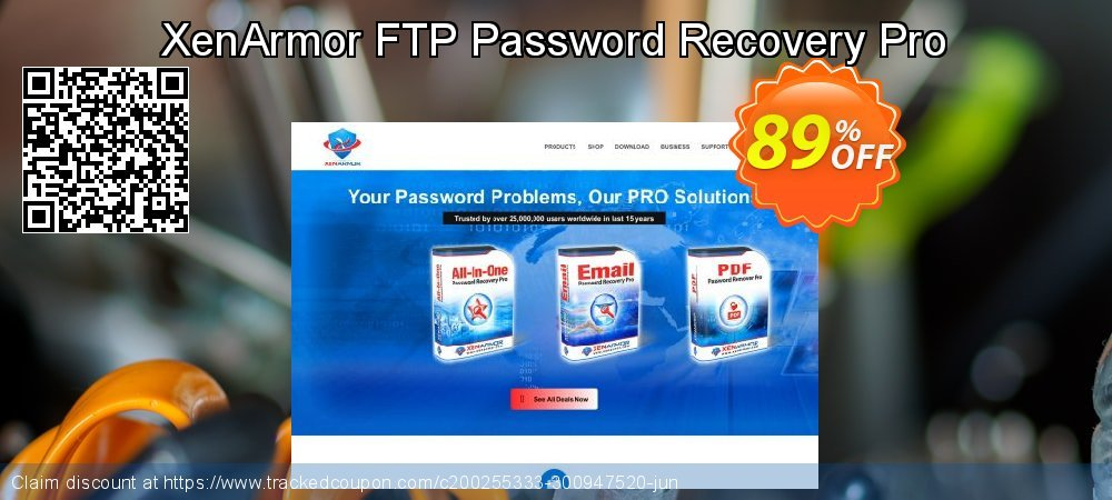 XenArmor FTP Password Recovery Pro coupon on New Year discounts