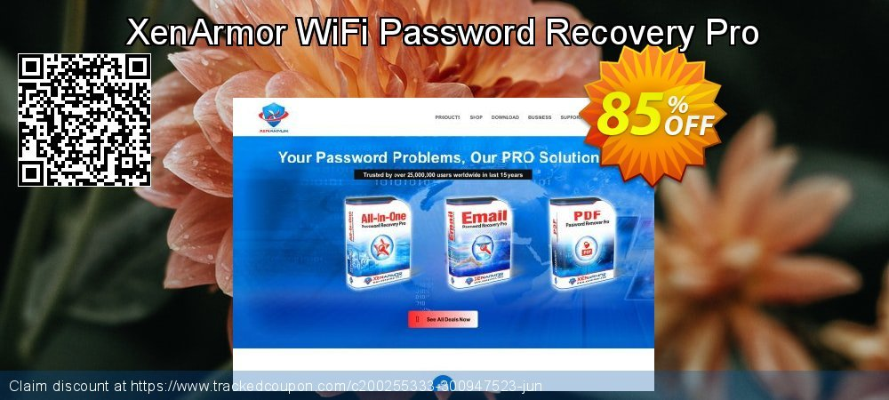 XenArmor WiFi Password Recovery Pro coupon on Lunar New Year deals