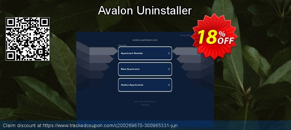 Avalon Uninstaller coupon on Wildlife month super sale
