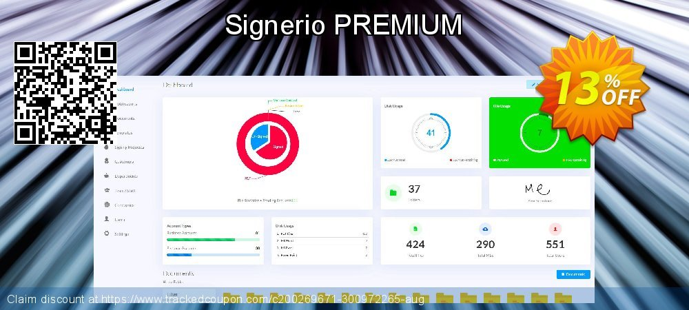 Signerio PREMIUM coupon on Talk Like a Pirate Day offer
