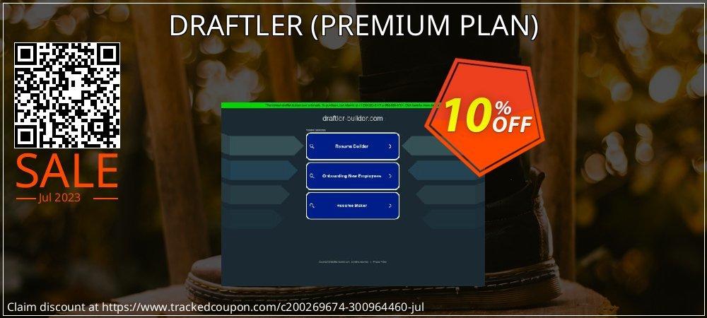 DRAFTLER - PREMIUM PLAN  coupon on National Singles Day discount