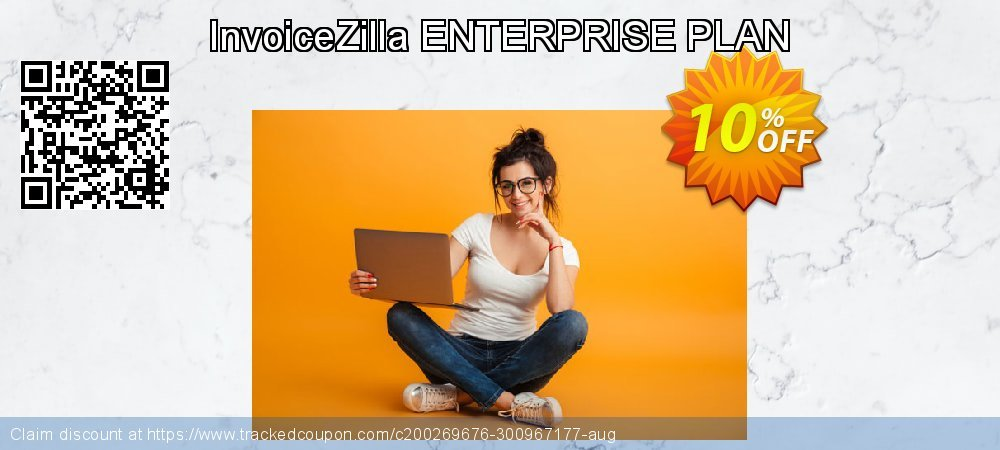 InvoiceZilla ENTERPRISE PLAN coupon on Cheese Pizza Day offering discount