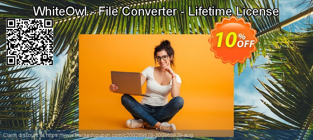 WhiteOwl - File Converter - Lifetime License coupon on Lazy Mom's Day promotions