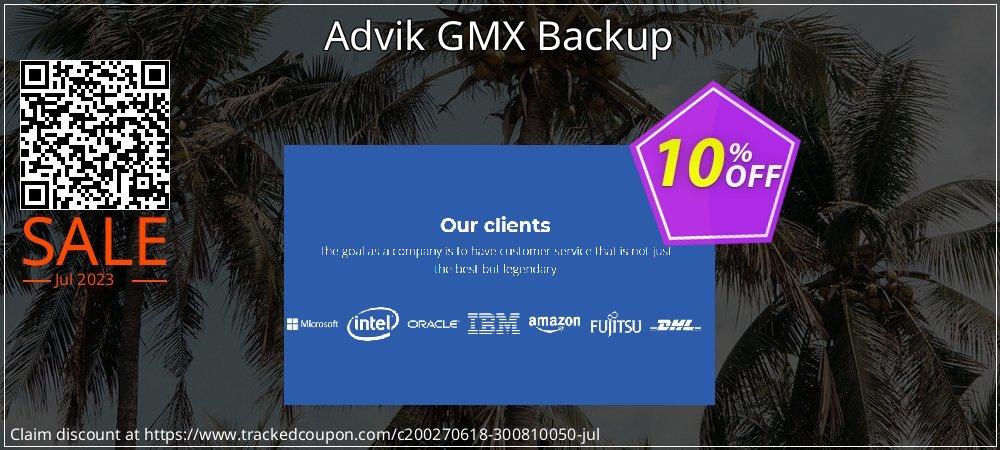 Get 10% OFF Advik GMX Backup offering sales