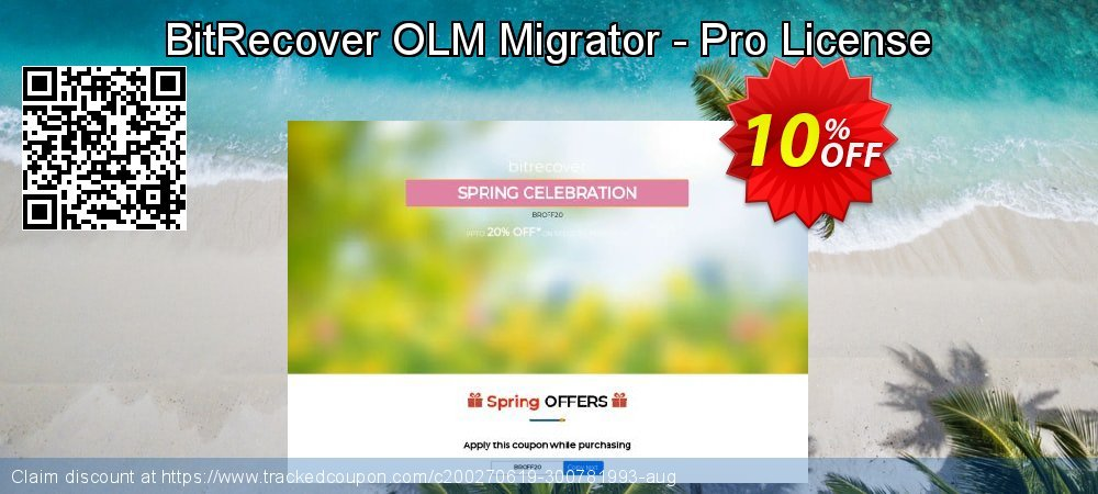 BitRecover OLM Migrator - Pro License coupon on Grandparents Day offer