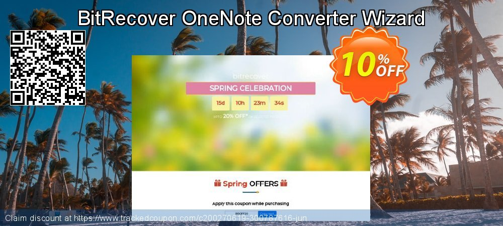 BitRecover OneNote Converter Wizard coupon on American Chess Day sales
