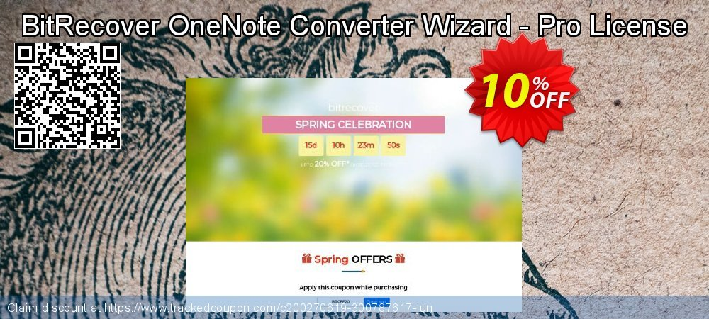 BitRecover OneNote Converter Wizard - Pro License coupon on Wildlife month deals