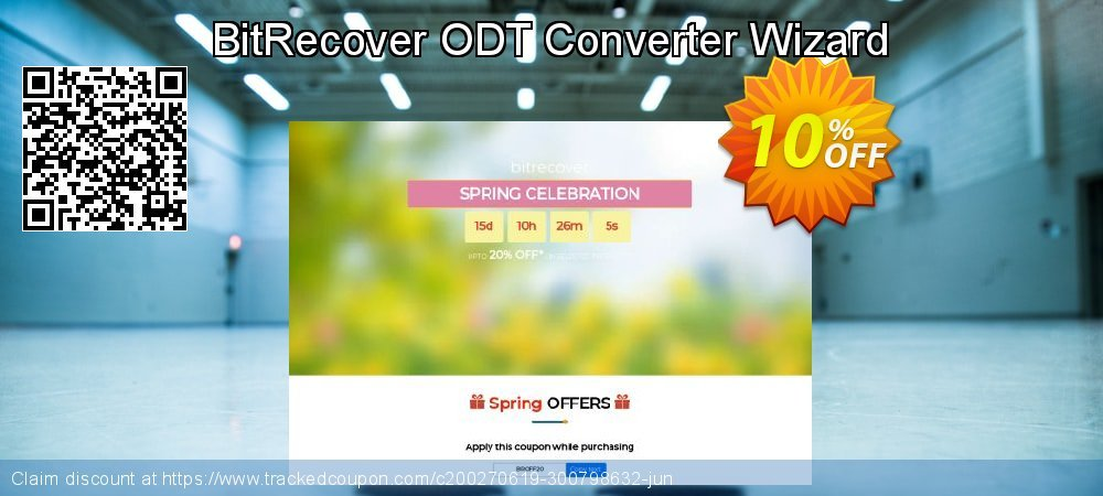 Get 10% OFF BitRecover ODT Converter Wizard discount