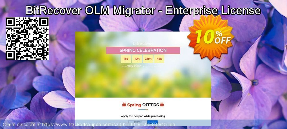 BitRecover OLM Migrator - Enterprise License coupon on National Coffee Day discount