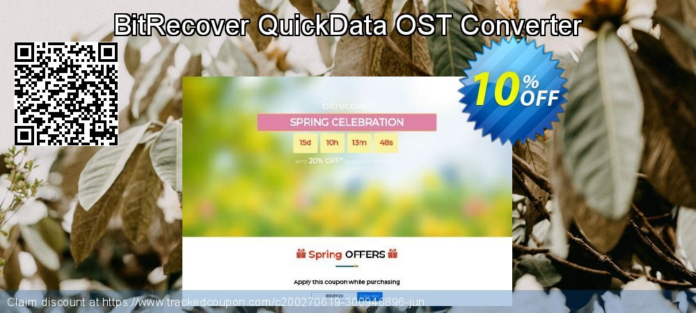 Claim 10% OFF QuickData OST Converter - Standard License Coupon discount February, 2020
