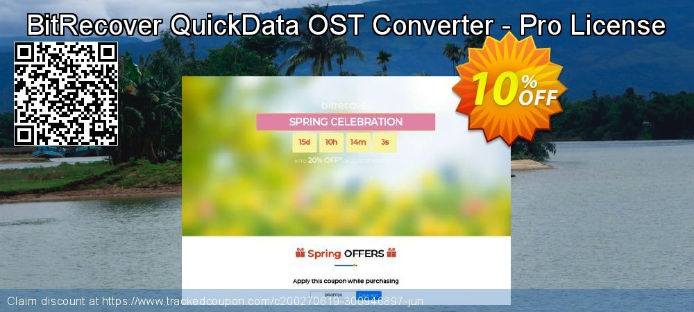 Claim 10% OFF QuickData OST Converter - Pro License Coupon discount February, 2020