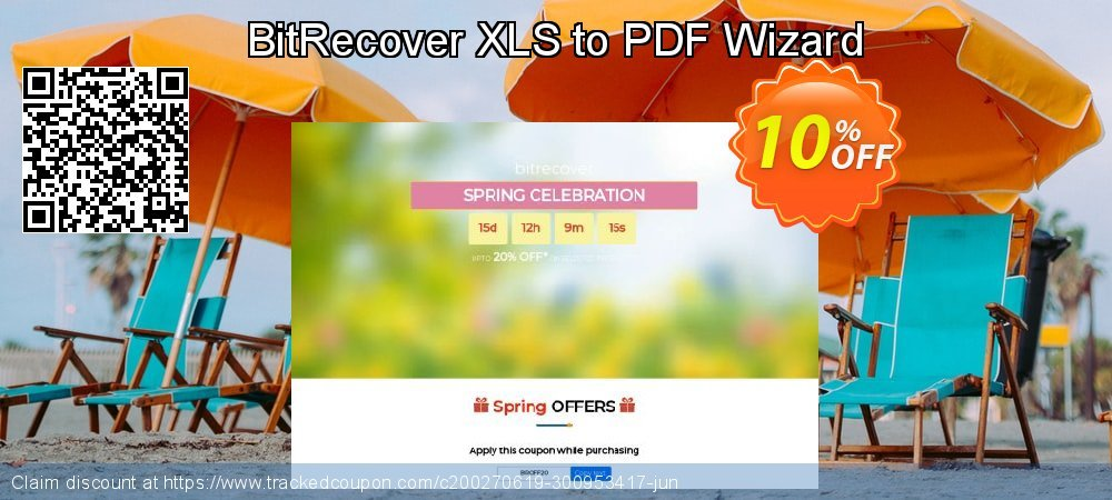 BitRecover XLS to PDF Wizard coupon on New Year's Day offering discount