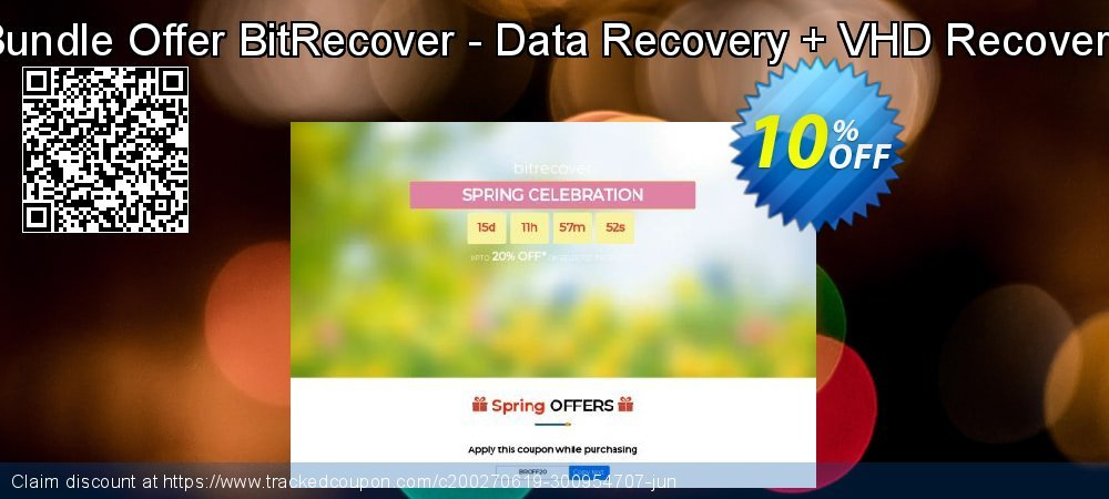 Bundle Offer BitRecover - Data Recovery + VHD Recovery coupon on Back-to-School event super sale