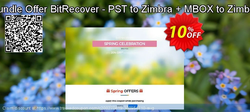 Bundle Offer BitRecover - PST to Zimbra + MBOX to Zimbra coupon on Halloween deals