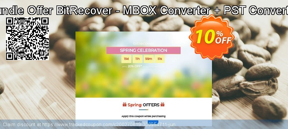 Bundle Offer BitRecover - MBOX Converter + PST Converter coupon on Halloween offer