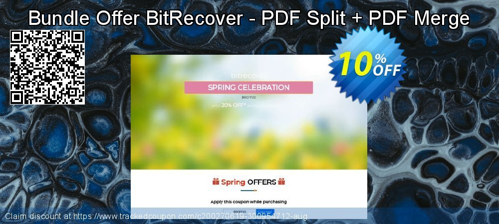 Bundle Offer BitRecover - PDF Split + PDF Merge coupon on Back to School coupons offer