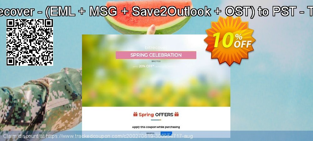 Bundle Offer BitRecover - - EML + MSG + Save2Outlook + OST to PST - Technician License coupon on New Year's Day promotions