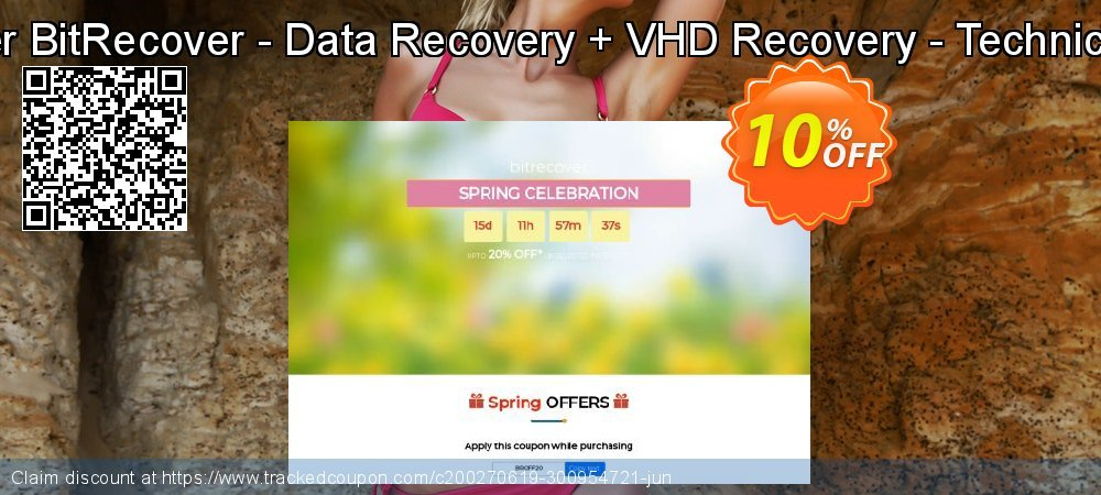 Bundle Offer BitRecover - Data Recovery + VHD Recovery - Technician License coupon on Halloween discount