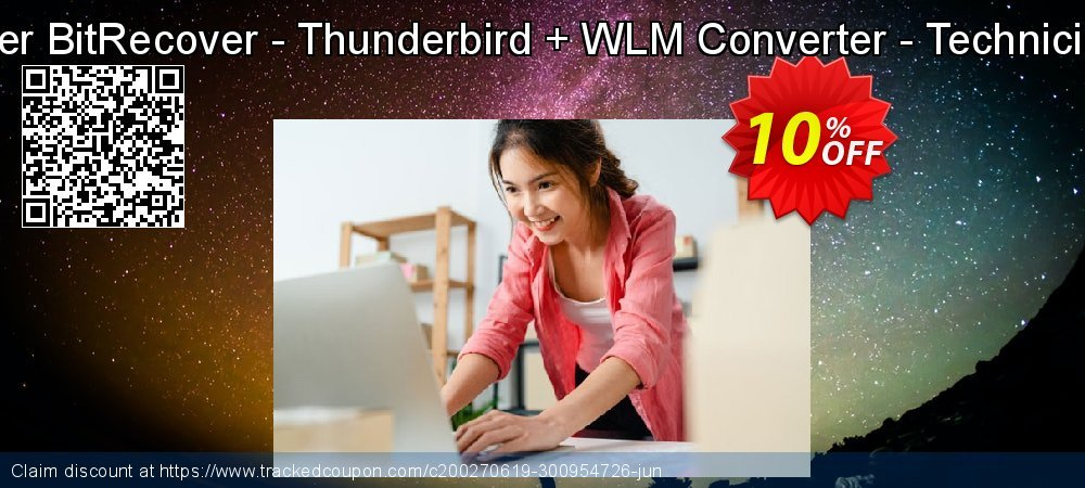 Bundle Offer BitRecover - Thunderbird + WLM Converter - Technician License coupon on Happy New Year promotions