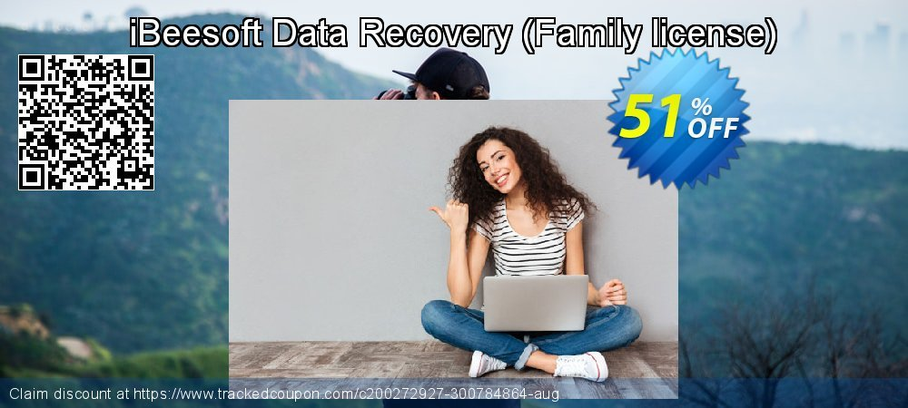 iBeesoft Data Recovery - Family license  coupon on New Year discounts