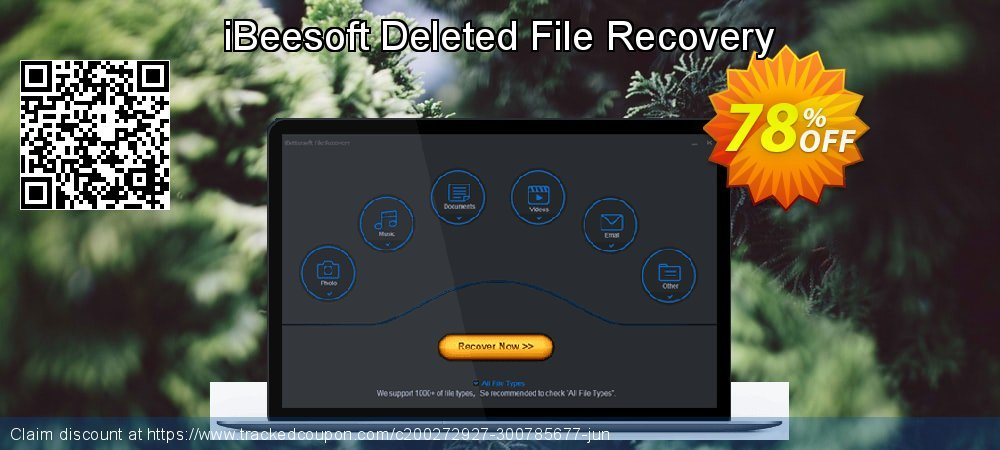 Claim 56% OFF iBeesoft Deleted File Recovery Coupon discount May, 2020