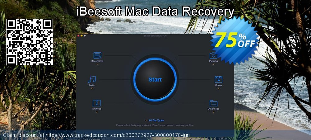iBeesoft Mac Data Recovery coupon on Happy New Year discount