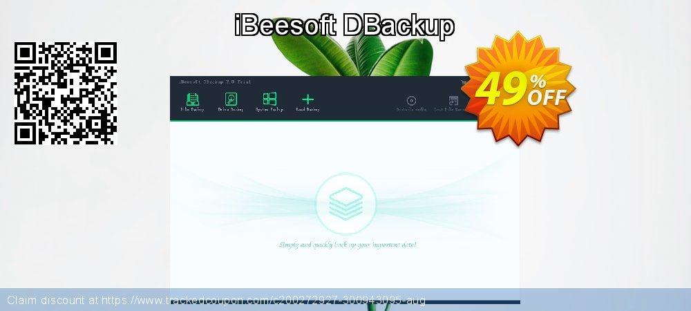 iBeesoft DBackup coupon on Lunar New Year sales
