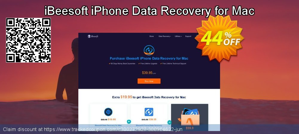 iBeesoft iPhone Data Recovery for Mac coupon on Happy New Year promotions