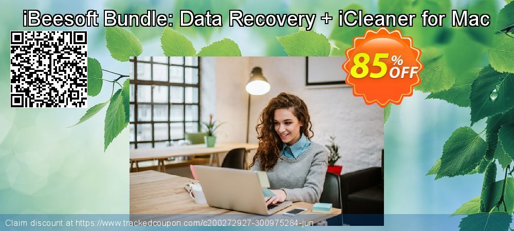 iBeesoft Bundle: Data Recovery + iCleaner for Mac coupon on New Year offering sales