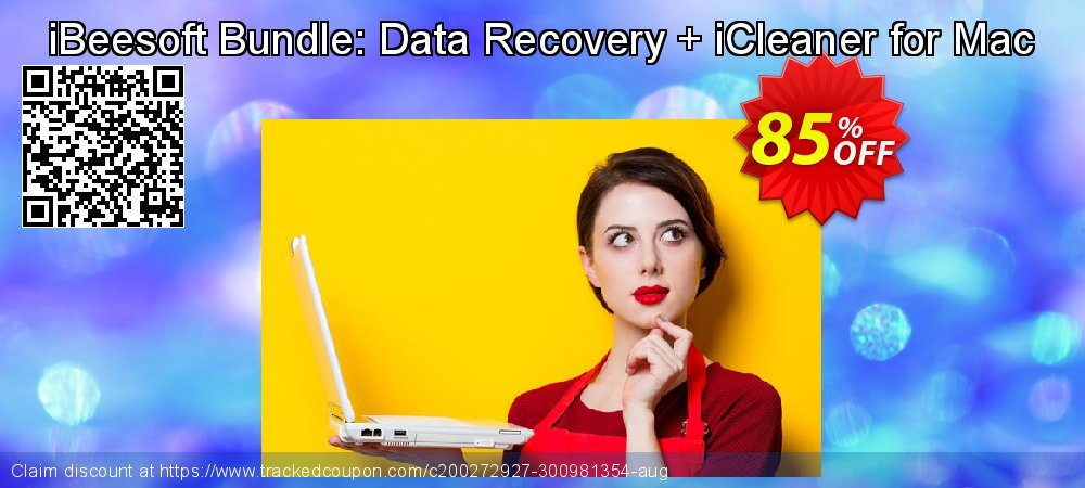 iBeesoft Bundle: Data Recovery + iCleaner for Mac coupon on Happy New Year sales