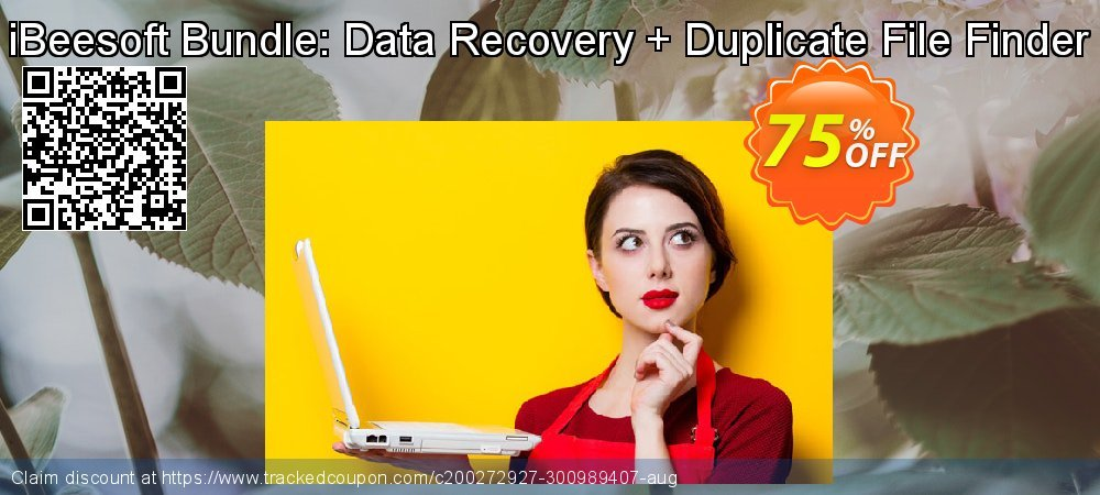 iBeesoft Bundle: Data Recovery + Duplicate File Finder coupon on Lunar New Year discounts