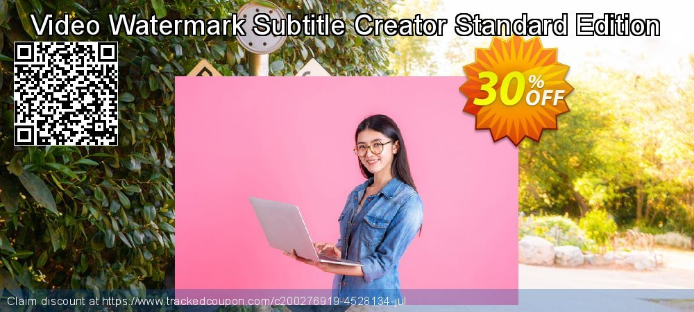 Video Watermark Subtitle Creator Standard Edition coupon on Happy New Year promotions