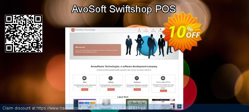 Get 10% OFF AvoSoft Swiftshop POS offering sales