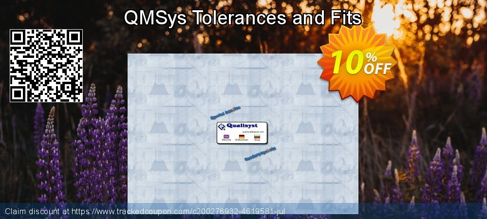 QMSys Tolerances and Fits coupon on New Year's Day deals
