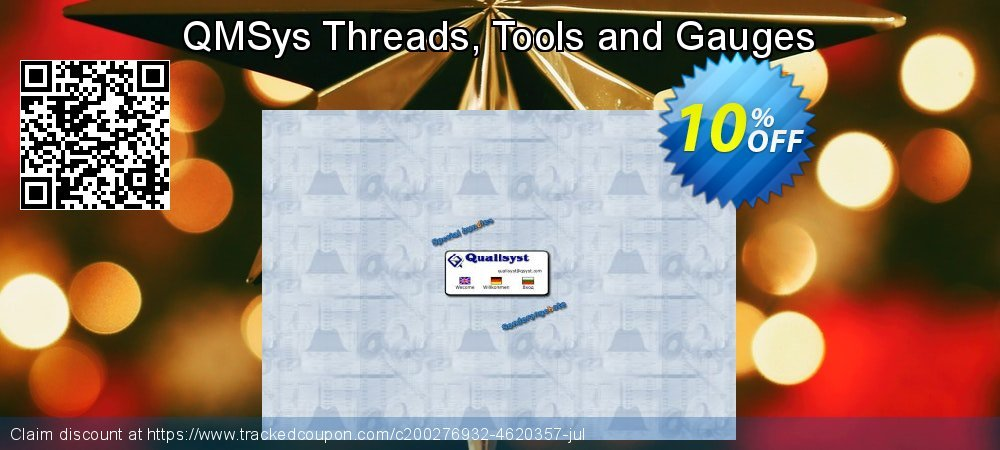 QMSys Threads, Tools and Gauges coupon on Back to School promotions deals