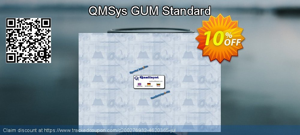 QMSys GUM Standard coupon on Exclusive Student discount sales