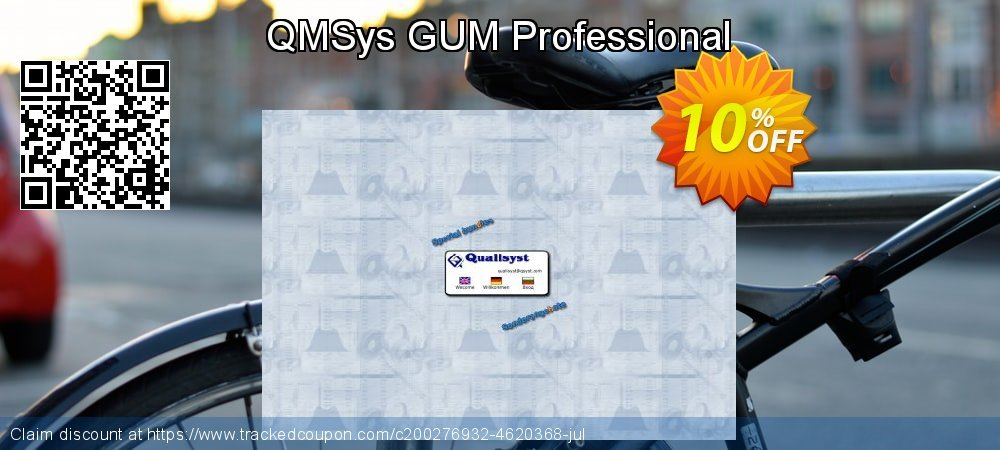 QMSys GUM Professional coupon on New Year offering sales