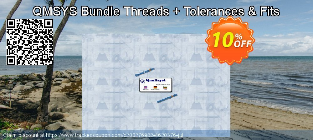 QMSYS Bundle Threads + Tolerances & Fits coupon on Back to School offer discount