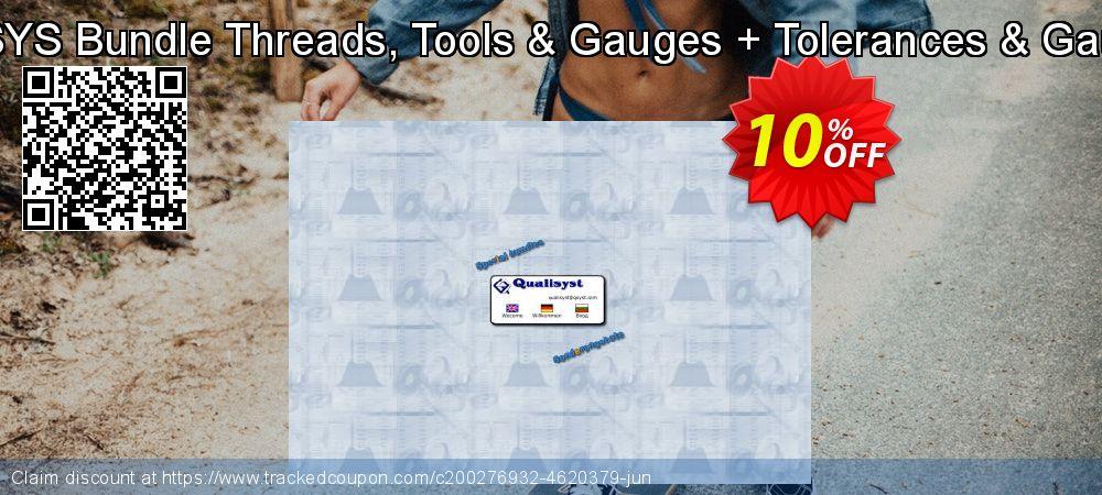 QMSYS Bundle Threads, Tools & Gauges + Tolerances & Gauges coupon on Lunar New Year discounts