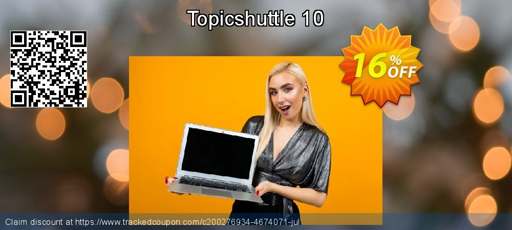 Topicshuttle 10 coupon on Lunar New Year discounts