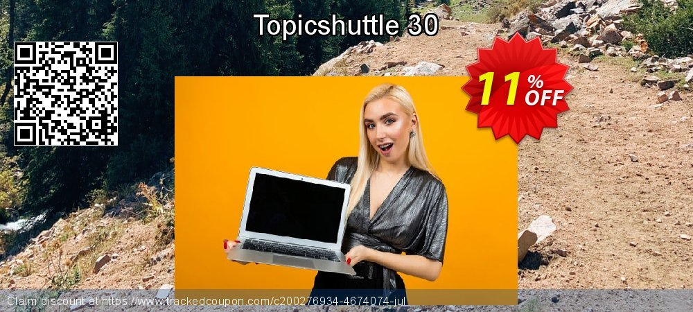 Topicshuttle 30 coupon on Super bowl deals
