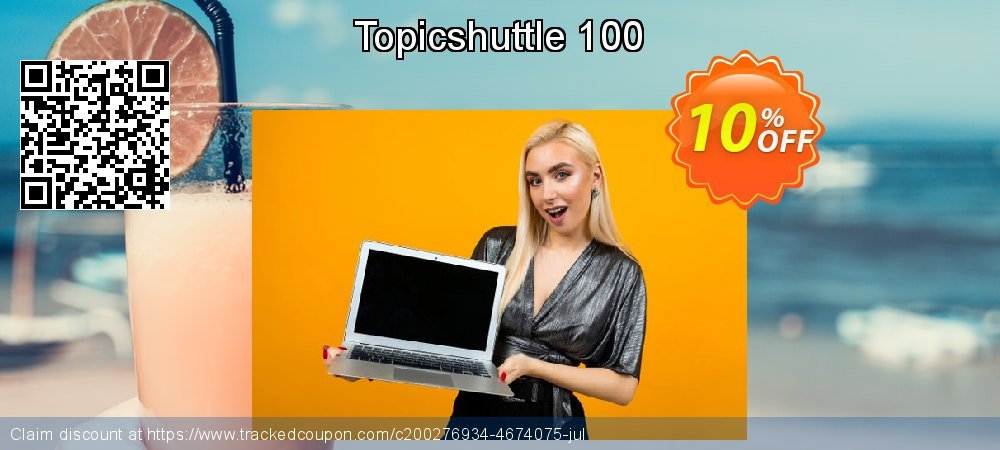 Topicshuttle 100 coupon on Valentines Day offer