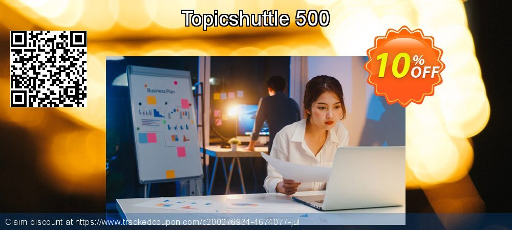 Topicshuttle 500 coupon on Valentine Week offering discount