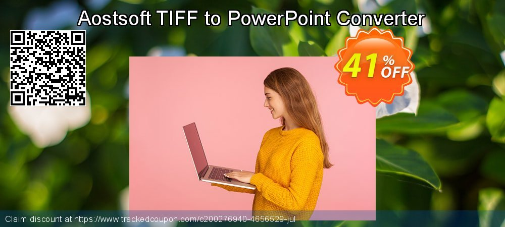 Get 40% OFF Aostsoft TIFF to PowerPoint Converter offering sales