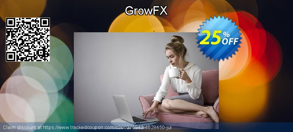 GrowFX coupon on Happy New Year offering sales