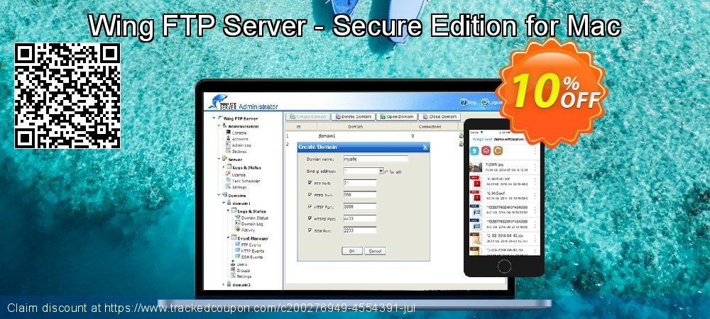Get 10% OFF Wing FTP Server - Secure Edition for Mac promotions
