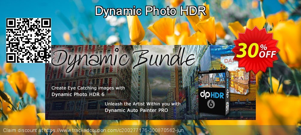 Dynamic Photo HDR coupon on Back to School shopping super sale
