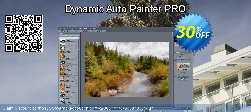 Dynamic Auto Painter PRO coupon on Back to School shopping sales