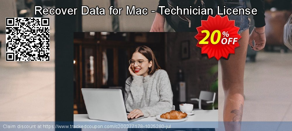Claim 20% OFF Recover Data for Mac - Technician License Coupon discount May, 2021